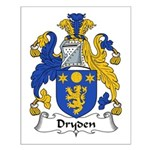 Dryden Family Crest Small Poster