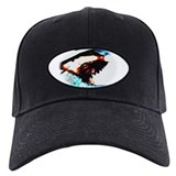 Great white shark Baseball Cap with Patch