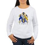 Dryden Family Crest Women's Long Sleeve T-Shirt