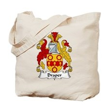 Draper Family Crest Tote Bag