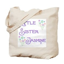 Little Sister Jasmine Tote Bag