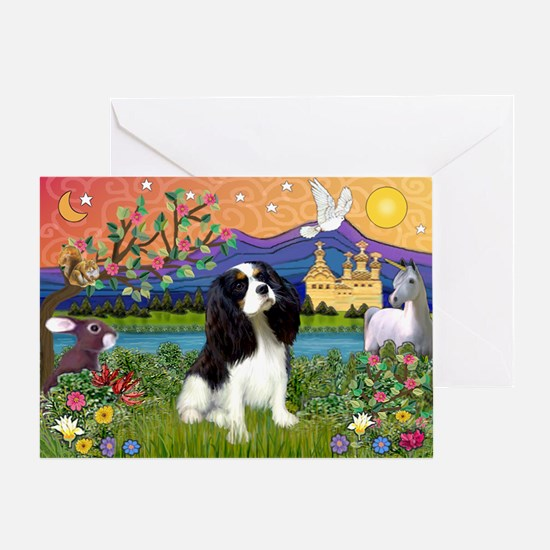 Tri Cavalier Fantasy Greeting Card