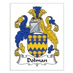 Dolman Family Crest Small Poster
