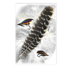 Flies on Feathers Postcards (Package of 8)