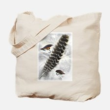 Flies on Feathers Tote Bag