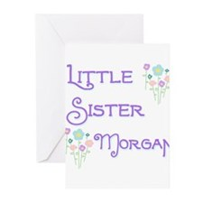 Little Sister Morgan Greeting Cards (Pk of 10)