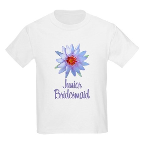 Lotus Junior Bridesmaid Kids Light T-Shirt