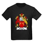 Dogget Family Crest Kids Dark T-Shirt