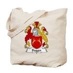 Dogget Family Crest Tote Bag
