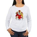 Dogget Family Crest Women's Long Sleeve T-Shirt