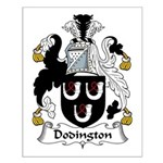 Dodsworth Family Crest Small Poster