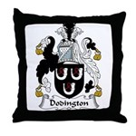 Dodsworth Family Crest Throw Pillow