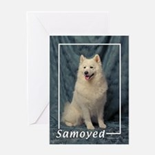 Samoyed-1 Greeting Card