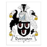 Dodington Family Crest  Small Poster