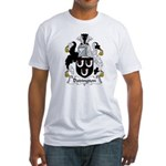 Dodington Family Crest  Fitted T-Shirt