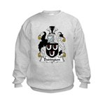 Dodington Family Crest  Kids Sweatshirt