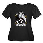 Dodington Family Crest  Women's Plus Size Scoop Ne