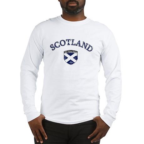 Scotland Soccer Long Sleeve T-Shirt