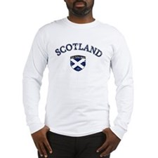 Scotland Soccer Long Sleeve T-Shirt