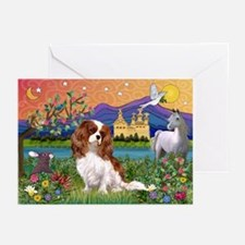 Fantasy Cavalier King Greeting Cards (Pk of 20)