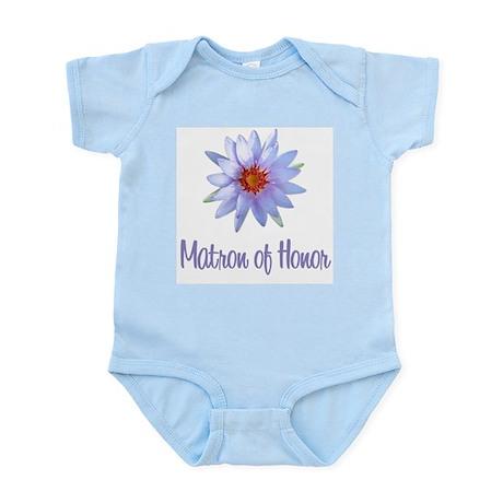 Lotus Matron of Honor Infant Bodysuit