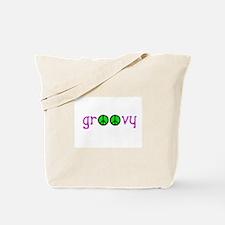 Groovy Peace Tote Bag
