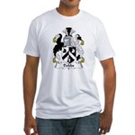 Dobbs Family Crest  Fitted T-Shirt