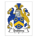 Dobbins Family Crest  Small Poster
