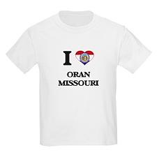 I love Oran Missouri T-Shirt