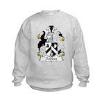Dobbes Family Crest  Kids Sweatshirt