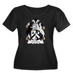 Dobbes Family Crest  Women's Plus Size Scoop Neck