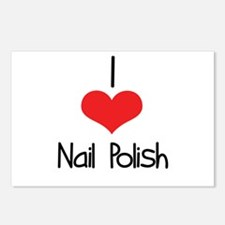 Nail Polish Postcards (Package of 8)