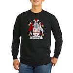 Diamond Family Crest Long Sleeve Dark T-Shirt