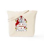 Diamond Family Crest Tote Bag
