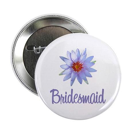 Lotus Bridesmaid Button