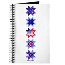 Stars on White Journal