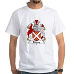 Denny Family Crest White T-Shirt