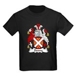 Denny Family Crest  Kids Dark T-Shirt