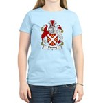 Denny Family Crest  Women's Light T-Shirt