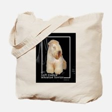 soft coated wheaton terrier Tote Bag