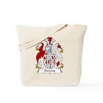 Dennis Family Crest Tote Bag