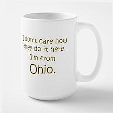 From Ohio Large Mug