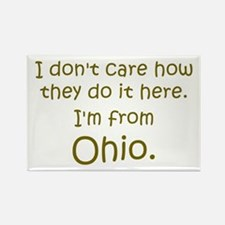 From Ohio Rectangle Magnet