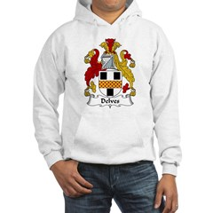 Delves Family Crest Hoodie