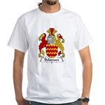 Delamare Family Crest White T-Shirt