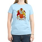 Delamare Family Crest  Women's Light T-Shirt