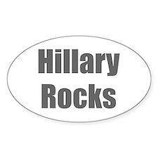 Hillary Rocks-Imp gray 400 Decal