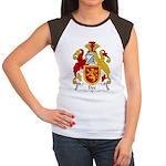 Dee Family Crest Women's Cap Sleeve T-Shirt