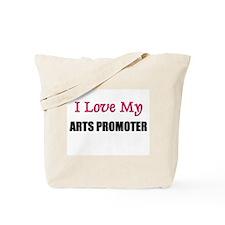 I Love My ARTS PROMOTER Tote Bag