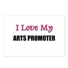 I Love My ARTS PROMOTER Postcards (Package of 8)